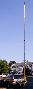 telescopic pole photography